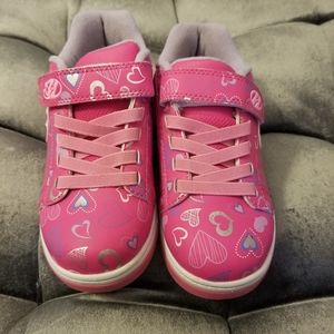 Heelys like new girls 13 child's shoes with wheels
